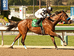 Let Faith Arise wins the 2014 Santa Margarita.