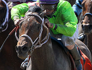 Look At the Time wins the PRPLCAP Crescenet City Derby.