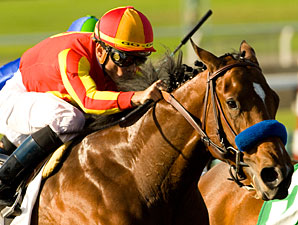 Lookin At Lucky wins the 2009 Norfolk.