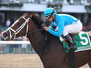 Maple Forest wins the 2012 Blue Sparkler Stakes.