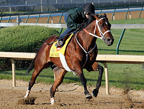 Mark Valeski at Churchill Downs 4/23/2012