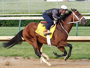 Mark Valeski at Churchill Downs 4/30/2012