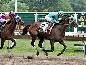 Maybe Tonight wins the 2014 Jersey Girl Handicap.
