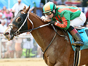 Mico Margarita wins the 2014 Senator Robert C. Byrd Memorial Stakes.