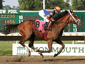 Micromanage wins the Long Branch Stakes.