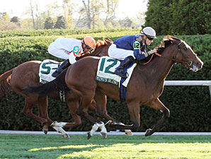 Mimi's Bling wins the 2010 Buffalo Trace Franklin County.