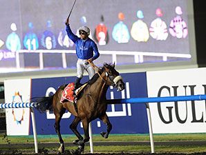 Monterosso wins the 2012 Dubai World Cup.