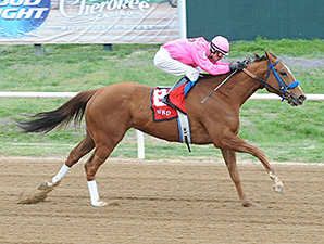 More Than Ever wins the Cherokee Casino Will Rogers Downs Classic Distaff Sprint.