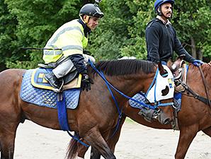 Moreno at Saratoga 8/24/2014.