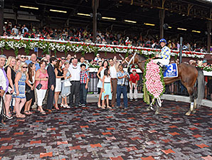 Moreno wins the 2014 Whitney.