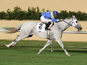 Motion Approved wins the 2011 Red Earth Stakes.