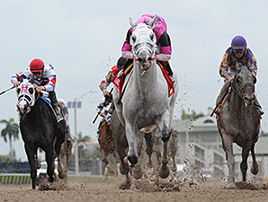 Mr. Baker wins the 2014 Housebuster Stakes.
