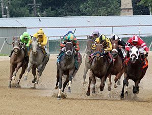 Ms Anna Destiny wins the 2013 West Virginia Secretary of State Stakes.