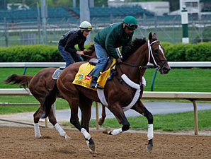Mucho Macho Man Churchill Downs 04/22/11.