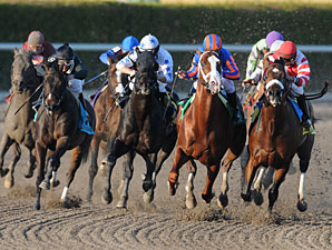 Munnings wins the 2010 Gulfstream Park Sprint Championship.