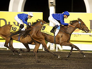 Music Chart wins the UAE 1000 Guineas Trial.