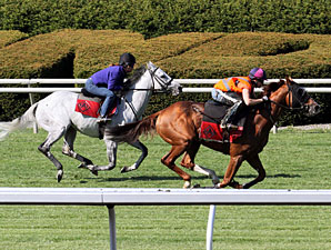 Musketier/Simmard Work at Keeneland, April 19, 2012.