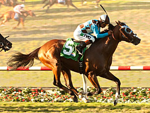 My Best Brother wins the Del Mar Derby.