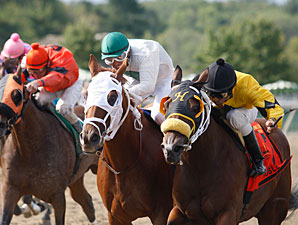 Noble Maz (right) wins the 2011 Mr. Jenney.