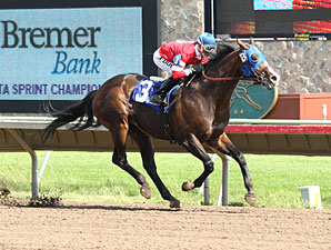 Nomorewineforeddie wins the 2012 Minnesota Sprint Championship.