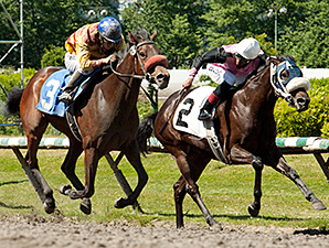 Ole's Miss wins the Emerald Downs.