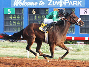 On Down The Road in the New Mexico Classic Cup Championship Stakes.