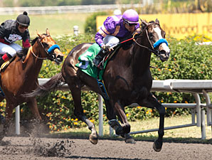 Ondine Allowance win, May 11, 2013. 3,000th winner Bejarano.