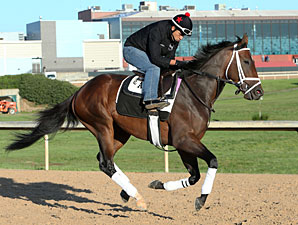 Overanalyze at Oaklawn on April 12, 2013