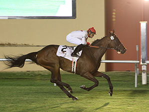 Pacar wins the 2012 Red Earth Stakes.