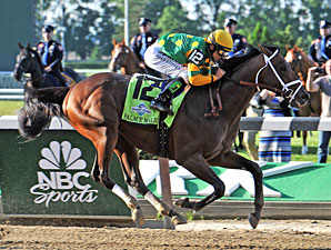 Palace Malice wins the Belmont Stakes.