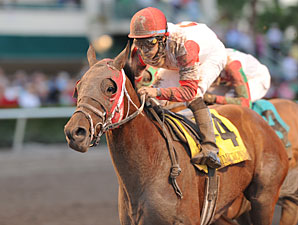 Parent's Honor wins the 2012 Claiming Crown Jewel.