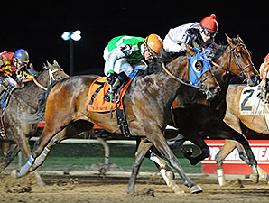 Patty's Key wins the 2014 John Wayne Stakes.