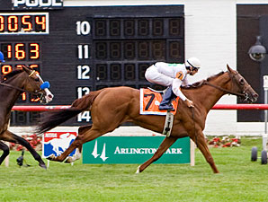 Peyote Patty wins the 2011 Lincoln Heritage.
