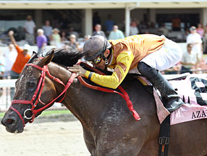 Pica Slew wins the 2010 Azalea Stakes.