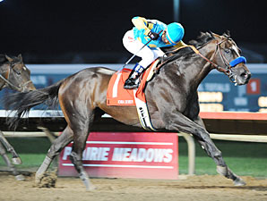 Prayer for Relief wins the Iowa Derby.