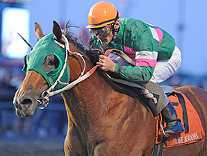 Private Prospect wins the 2014 Prairie Gold Juvenile Stakes.