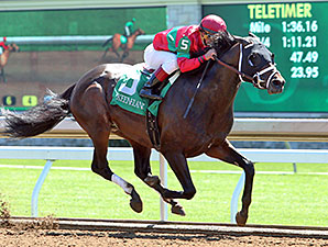 Protonico wins the Ben Ali Stakes.