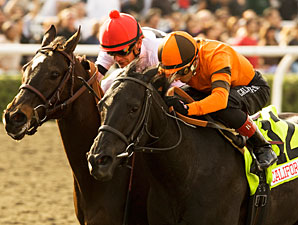 Quisisana wins the 2010 Sunshine Millions Filly & Mare Sprint.