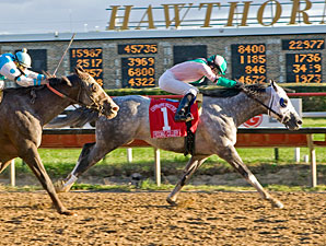 Redding Colliery wins the 2010 Hawthorne Gold Cup.