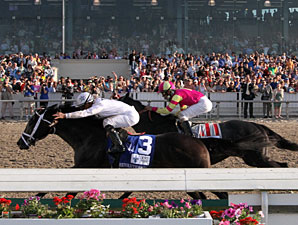 Revolutionary wins the 2013 Louisiana Derby.
