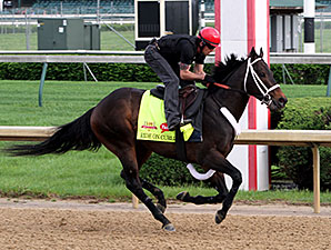 Ride on Curlin - Churchill Downs, May 1, 2014