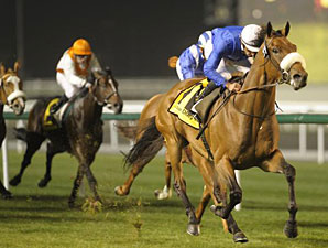 Rileyskeepingfaith wins the 2011 Zabeel Mile.