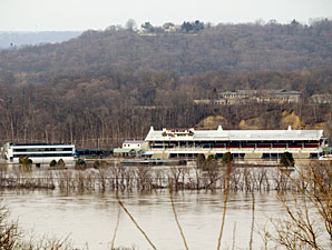 Flooding Delays River Downs Meet Opening