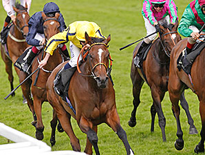 Rizeena wins the 2014 Coronation Stakes.