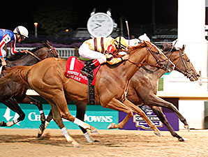 Ron the Greek wins the 2012 Stephen Foster.
