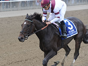 Royal Delta wins the 2012 Beldame.