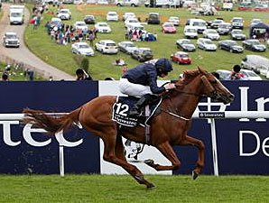 Ruler of the World wins the Investec Derby.