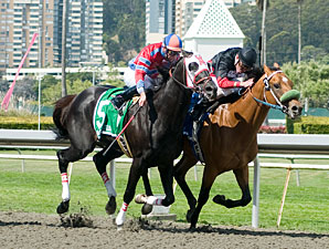 Run It wins the 2010 Berkeley Stakes.