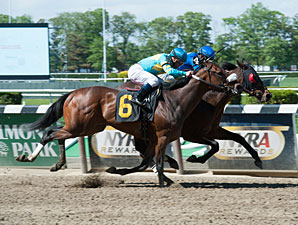 Saginaw wins a Starter/Optional Claimer on May 12, 2013.
