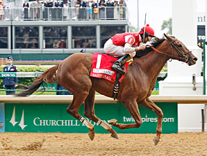 Sassy Image wins the Humana Distaff at Churchill Downs.